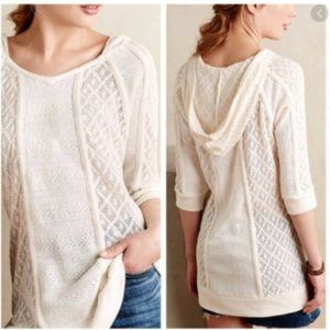 Meadow Rue Anthro Whispering Winds Tunic Sweater